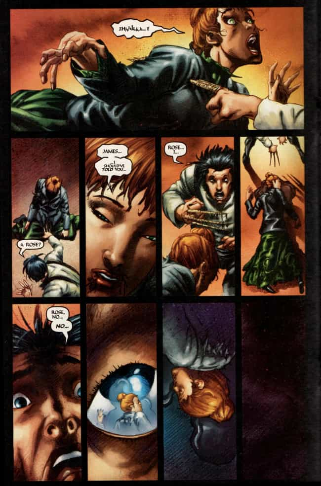 Rose O'Hara is listed (or ranked) 4 on the list 10 Times Wolverine Went Berserk and Killed Innocent People