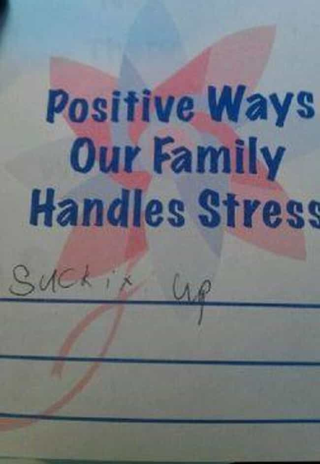 Man Up is listed (or ranked) 4 on the list 22 Hilarious Examples of Wisdom from Little Kids
