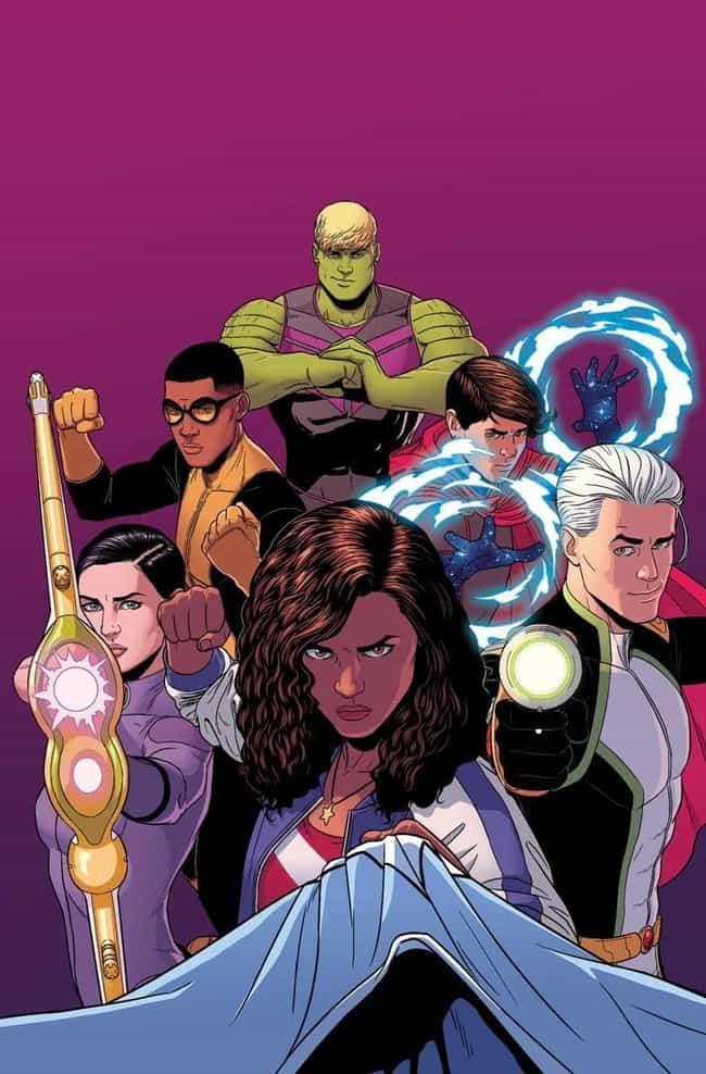 Young Avengers (Vol. 1 and 2) is listed (or ranked) 1 on the list 14 Queer Comic Books You Probably Haven't Read (But Should)