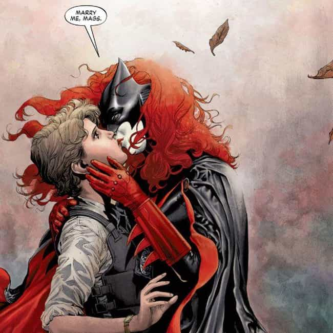 Batwoman is listed (or ranked) 2 on the list 14 Queer Comic Books You Probably Haven't Read (But Should)