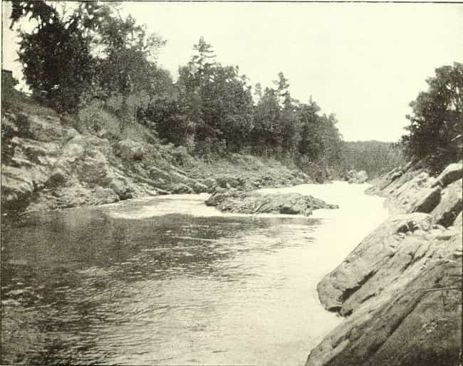 The Saco River Curse is listed (or ranked) 2 on the list 12 Creepy Stories and Urban Legends from Maine