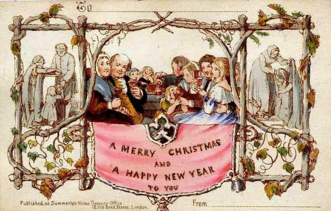 The First Christmas Card is listed (or ranked) 1 on the list 12 Historic Things Britain Was the First to Do