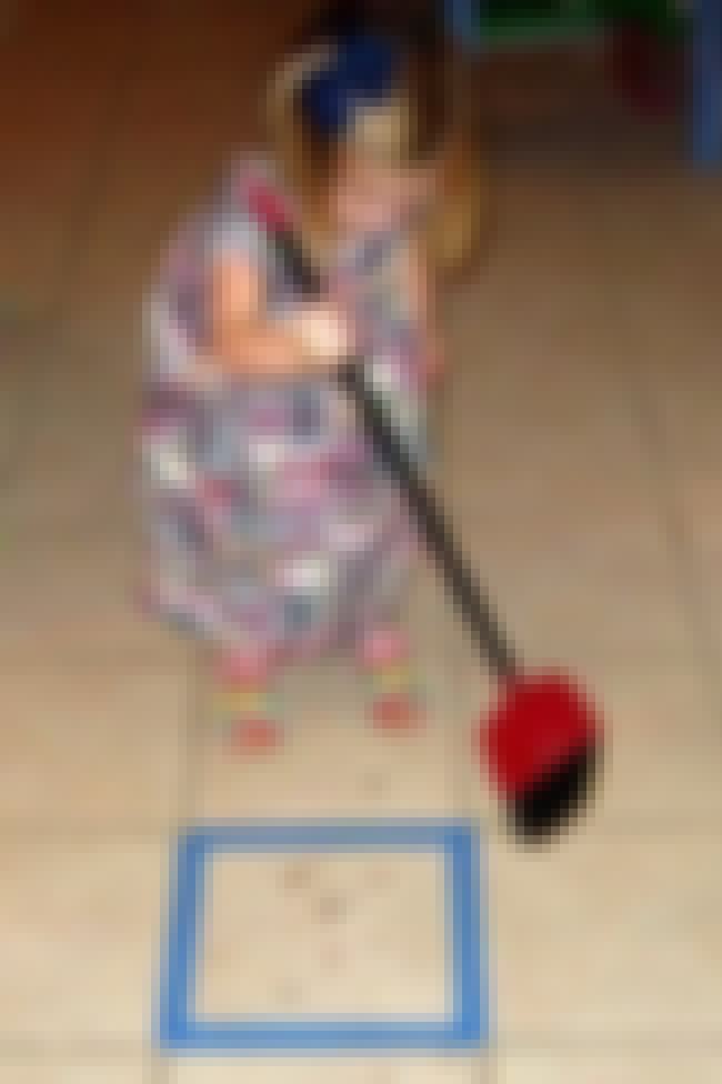 Forget Chores and Play Sweep t... is listed (or ranked) 4 on the list Fun Parenting Hacks All New Dads Will Appreciate