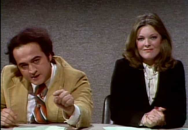 John Belushi vs. Every Female ... is listed (or ranked) 2 on the list 15 Fights That Broke Out Behind the Scenes of Saturday Night Live