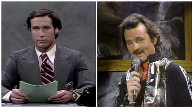 Chevy Chase vs. Bill Mur... is listed (or ranked) 4 on the list 15 Fights That Broke Out Behind the Scenes of Saturday Night Live