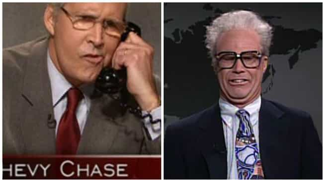Chevy Chase vs. The Mid '9... is listed (or ranked) 6 on the list 15 Fights That Broke Out Behind the Scenes of Saturday Night Live