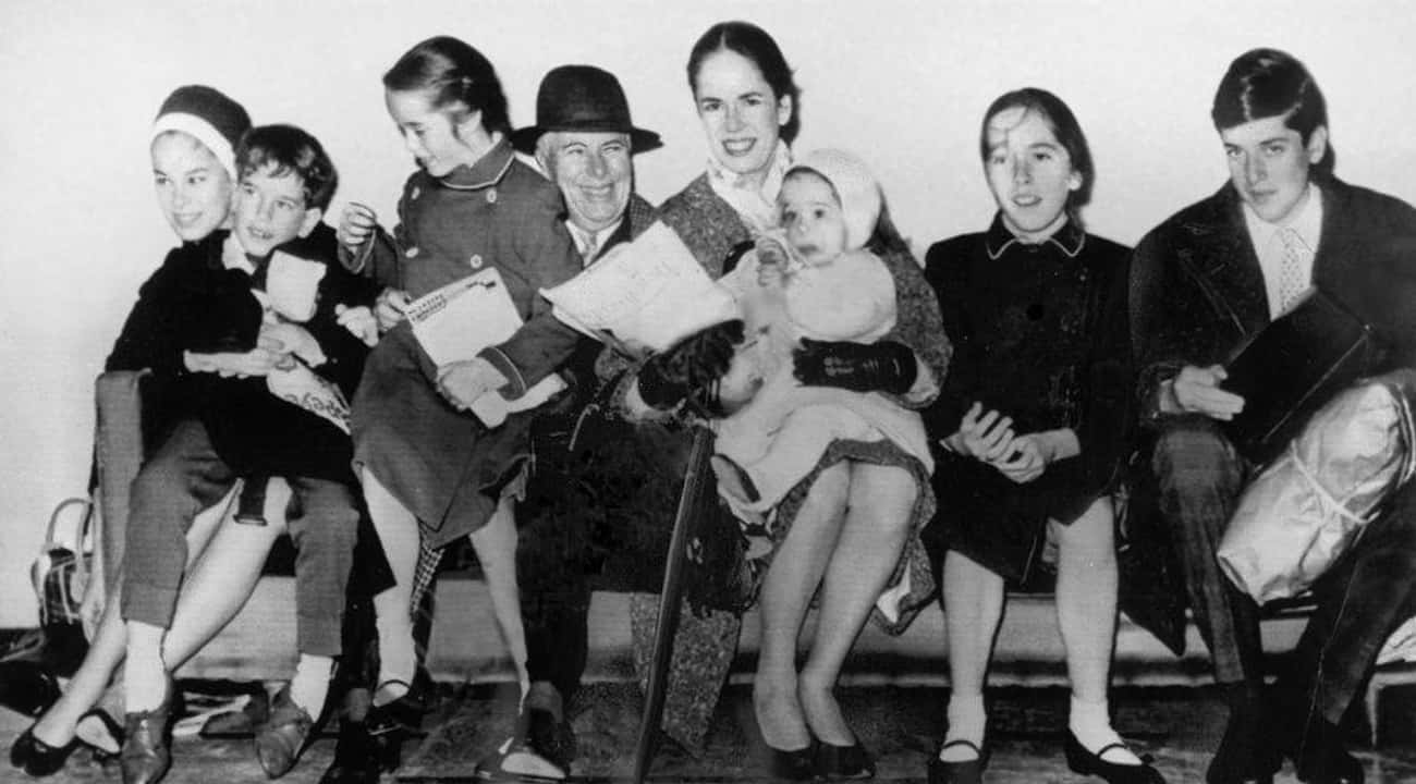 He Had Four Wives, All Of Them is listed (or ranked) 1 on the list 18 Surprising and Revealing Facts About Charlie Chaplin