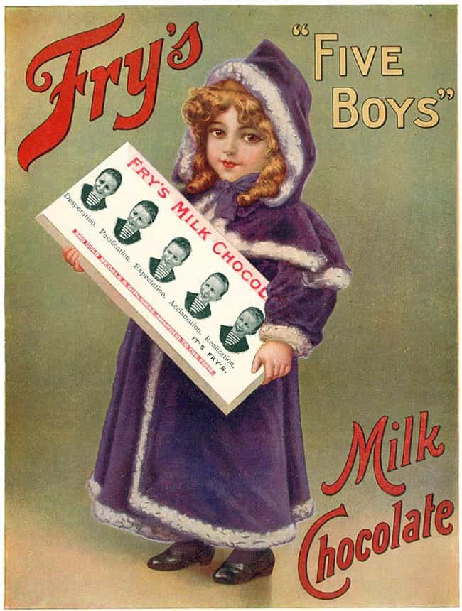 The First Chocolate Candy Bar is listed (or ranked) 3 on the list 12 Historic Things Britain Was the First to Do