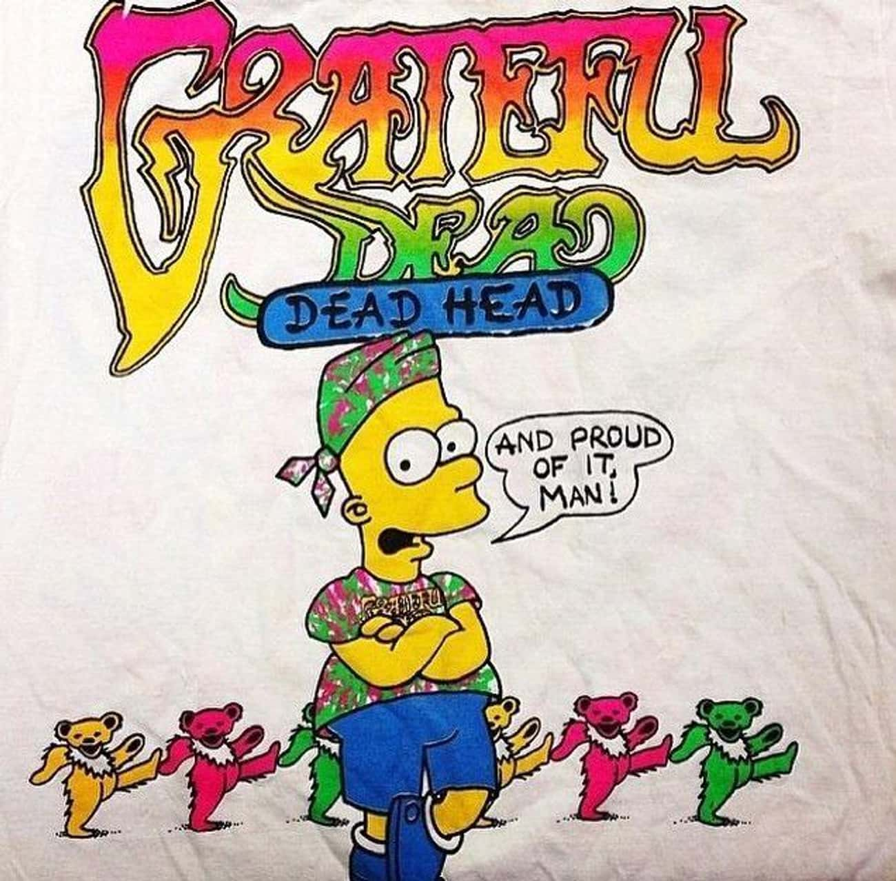 Knock Off Simpsons Shirts is listed (or ranked) 4 on the list T-Shirts You Regret Wearing as a Kid in the '90s