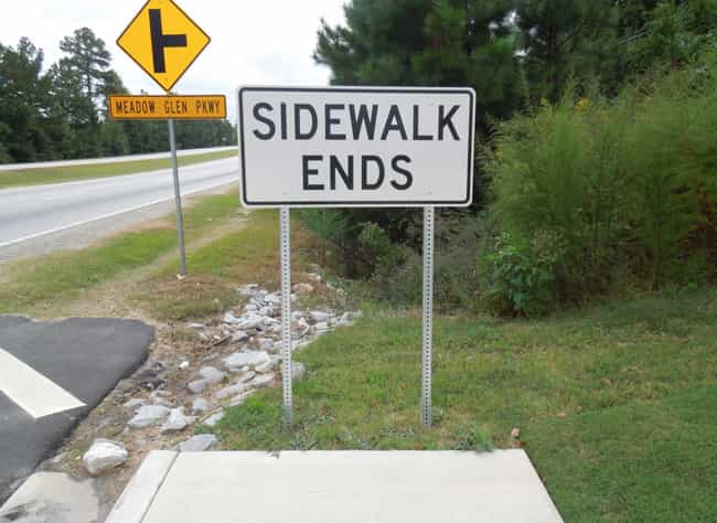 The End Game is listed (or ranked) 4 on the list The Most Unnecessary Signs Ever Made