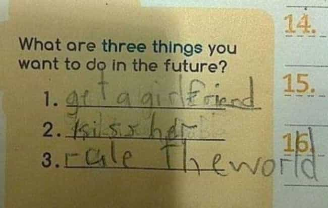 """21 Kids Who Answered the """"When I Grow Up"""" Prompt Perfectly"""
