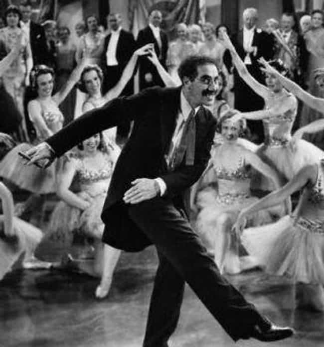 Groucho Danced On Hitler's... is listed (or ranked) 2 on the list 15 Surprising Things You Didn't Know About the Marx Brothers