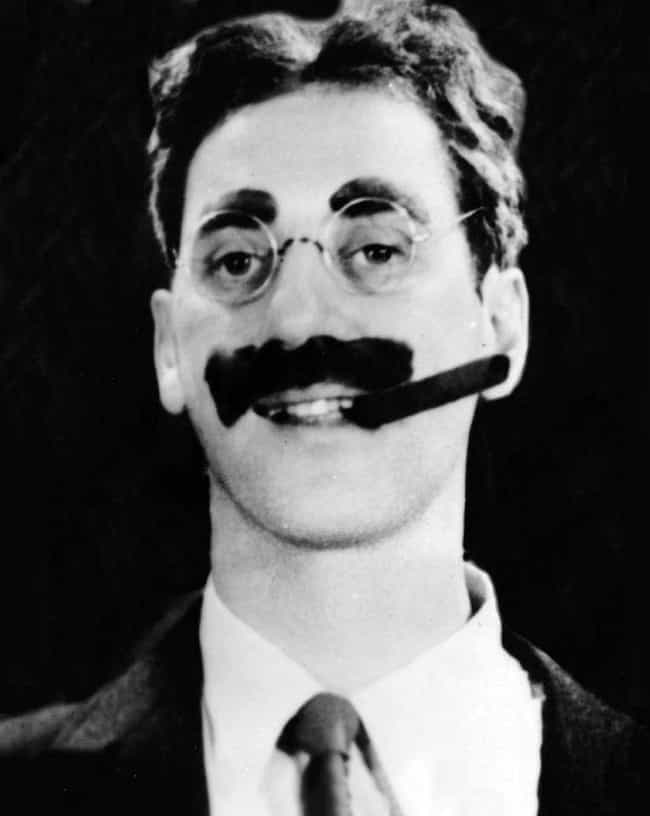 Groucho's Mustache Was A M... is listed (or ranked) 4 on the list 15 Surprising Things You Didn't Know About the Marx Brothers