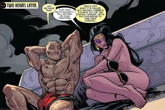 Marvel cartoon sesso video