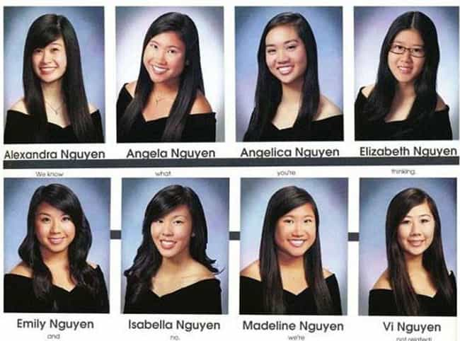 World's Best Tag Team Qu... is listed (or ranked) 5 on the list These Hilarious Graduating Seniors Absolutely Nailed Their Yearbook Quotes