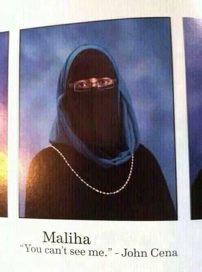 Who Said That? is listed (or ranked) 4 on the list These Hilarious Graduating Seniors Absolutely Nailed Their Yearbook Quotes