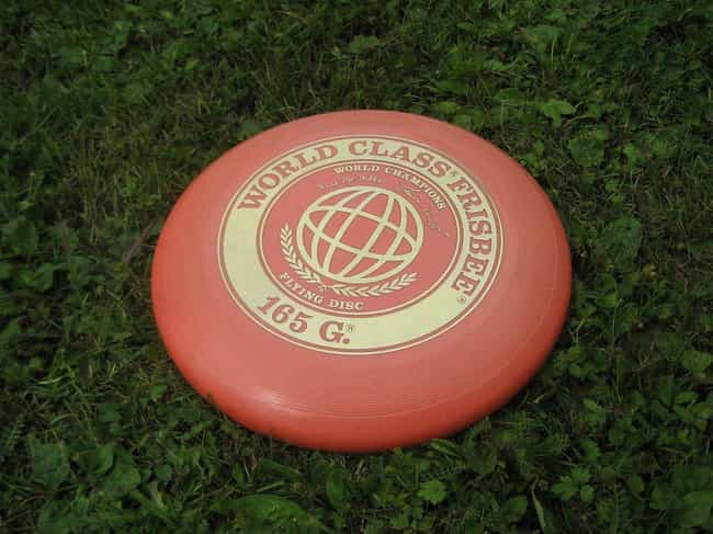 The Frisbee is listed (or ranked) 1 on the list 15 Weird but True Stories Behind Unique American Products