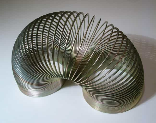 The Slinky is listed (or ranked) 2 on the list 15 Weird but True Stories Behind Unique American Products