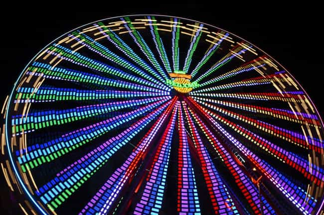 The Ferris Wheel is listed (or ranked) 3 on the list 15 Weird but True Stories Behind Unique American Products
