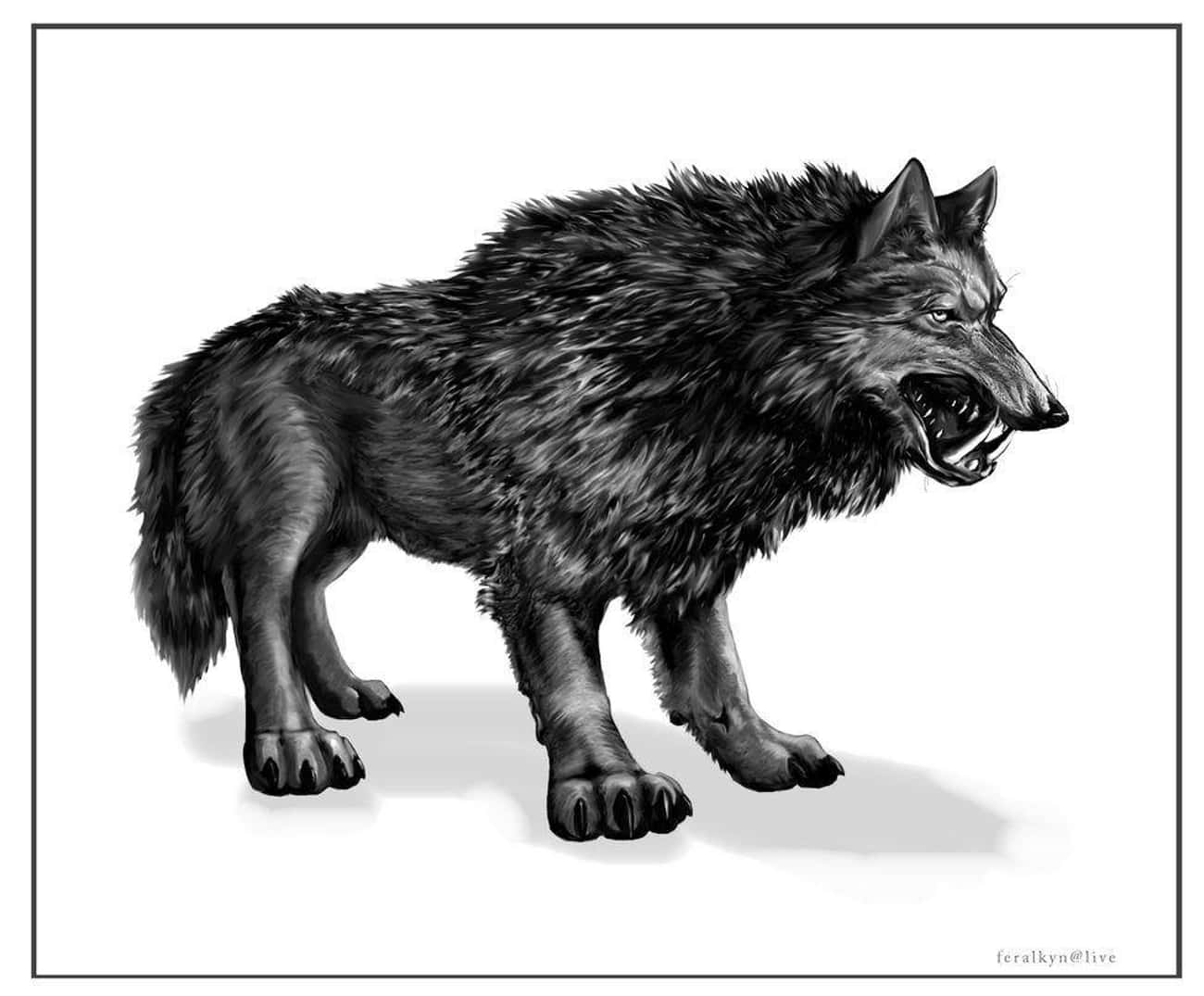 """A Prehistoric """"Saberwolf&# is listed (or ranked) 3 on the list Creepy Legends and Stories from Alaska"""