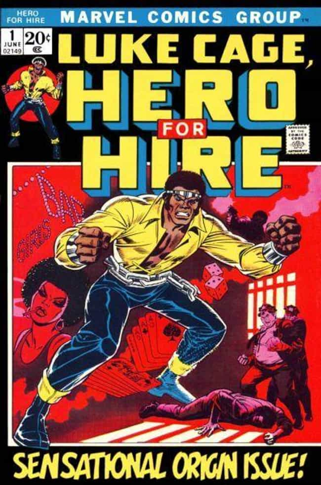 He Was the First African-Ameri... is listed (or ranked) 1 on the list Hardcore Luke Cage Moments That Prove He's Marvel's Most Underrated Hero