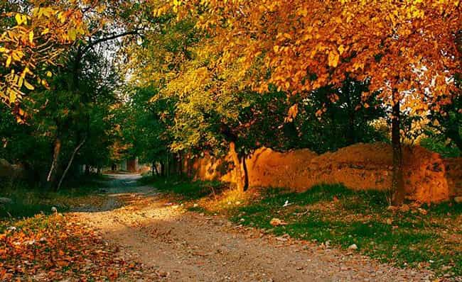 Marand, Azarbayjan-e Sharqi, I... is listed (or ranked) 2 on the list 26 Gorgeous Photos of What Fall Looks Like Around the World