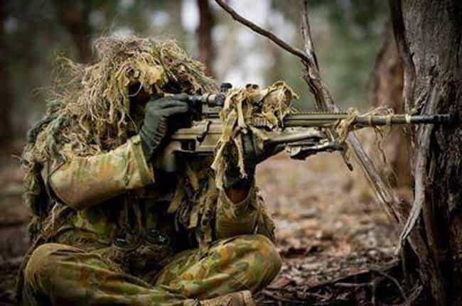Australian SASR Sniper is listed (or ranked) 3 on the list 28 Intense Photos of Special Forces from Around the World