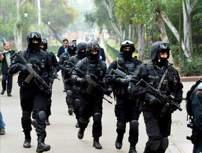 Black Cat Commandos, Ind... is listed (or ranked) 2 on the list 28 Intense Photos of Special Forces from Around the World