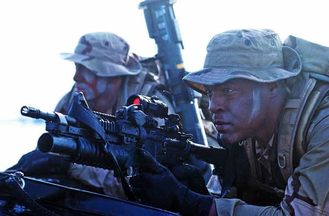 United States Navy Seals is listed (or ranked) 4 on the list 28 Intense Photos of Special Forces from Around the World