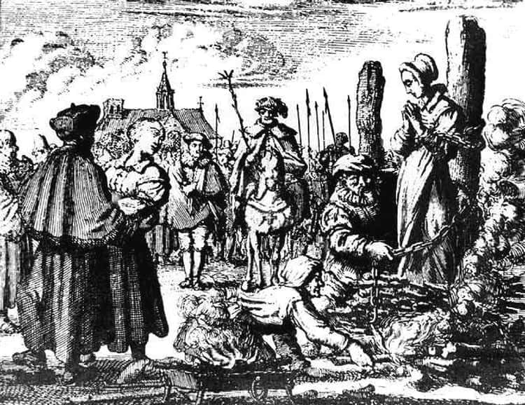 MYTH: Accused Witches Were Burned at the Stake