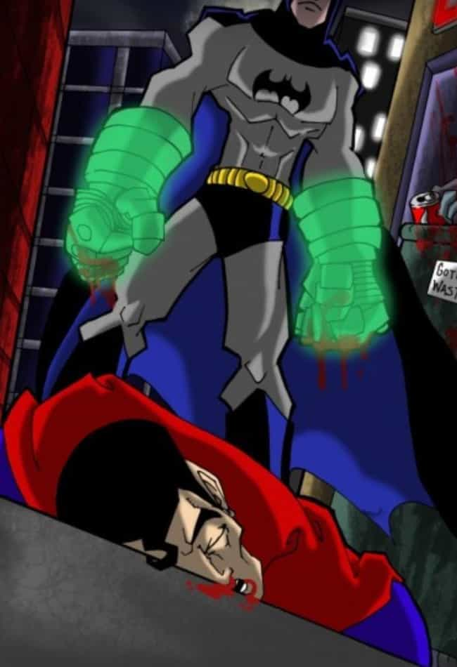 Batman's Giant Power Glo... is listed (or ranked) 3 on the list The Coolest Things Batman Has Ever Bought