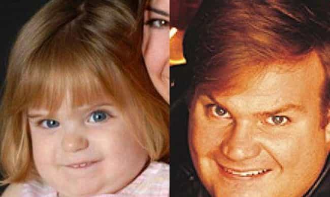 Baby Chris Farley is listed (or ranked) 1 on the list 23 Babies Who Totally Look Like Famous Celebrities