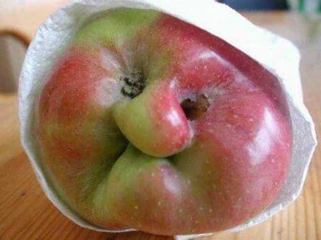 Apple of My Eye is listed (or ranked) 4 on the list 23 Sad Looking Foods That Need Cheering Up