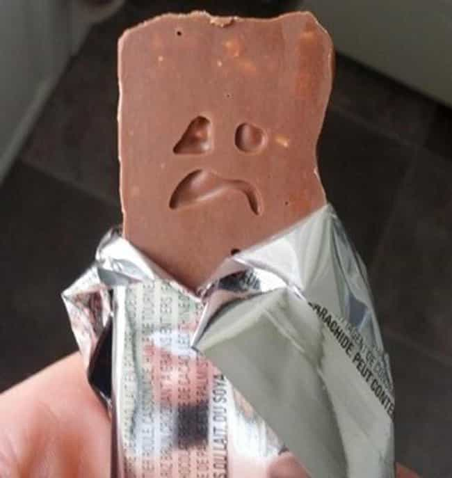 Meanwhile, in Candyland is listed (or ranked) 2 on the list 23 Sad Looking Foods That Need Cheering Up