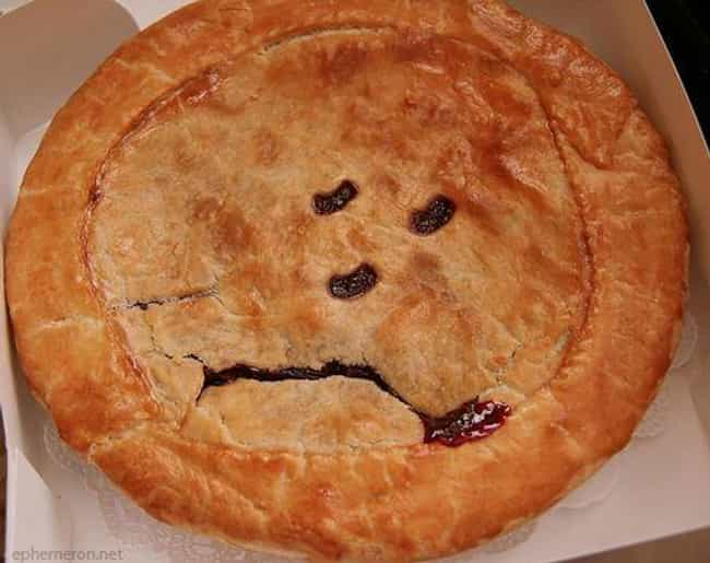 Live Free or Pie Hard is listed (or ranked) 3 on the list 23 Sad Looking Foods That Need Cheering Up