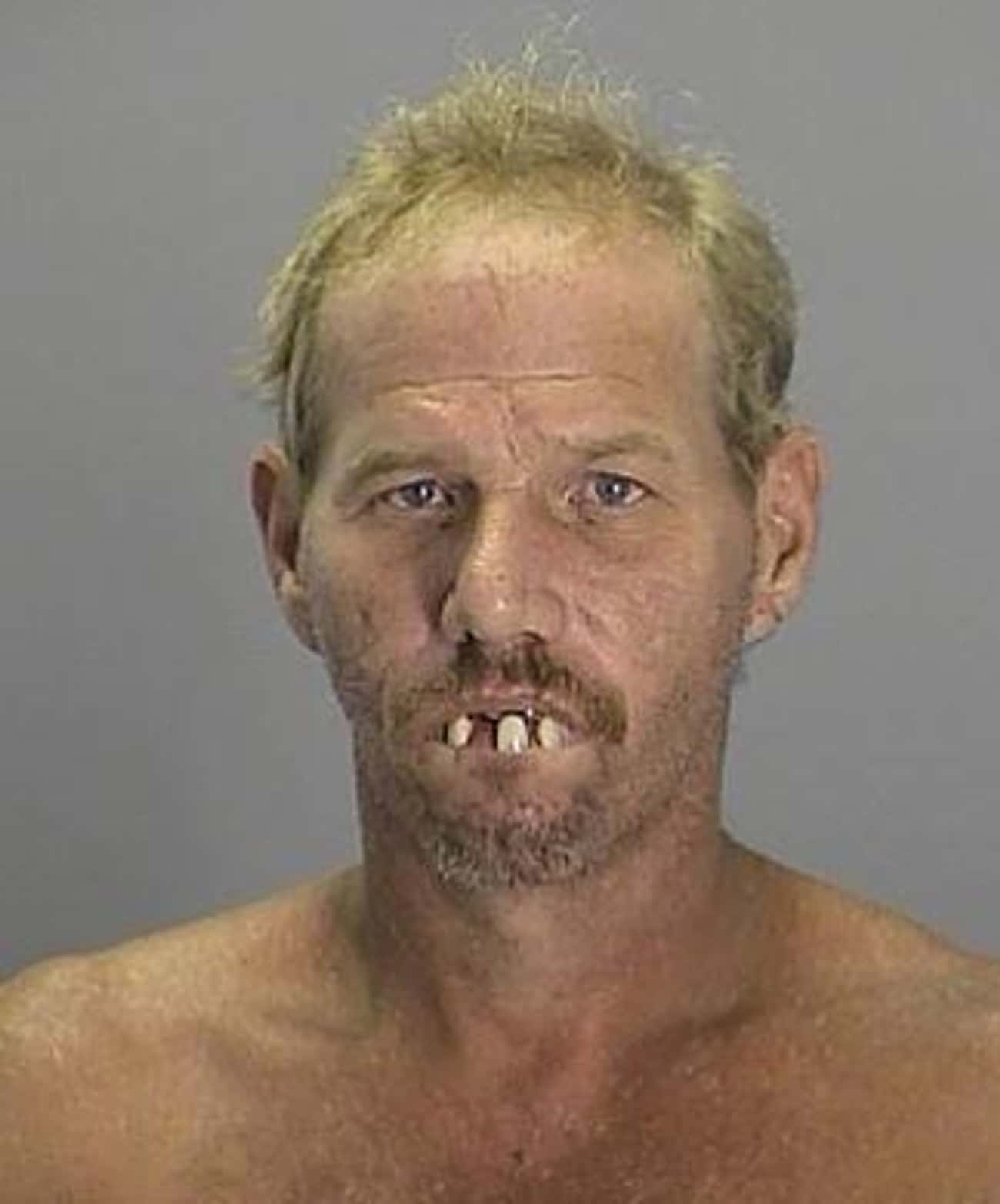 Snaggletooth is listed (or ranked) 1 on the list 28 Hilarious Florida Mugshots