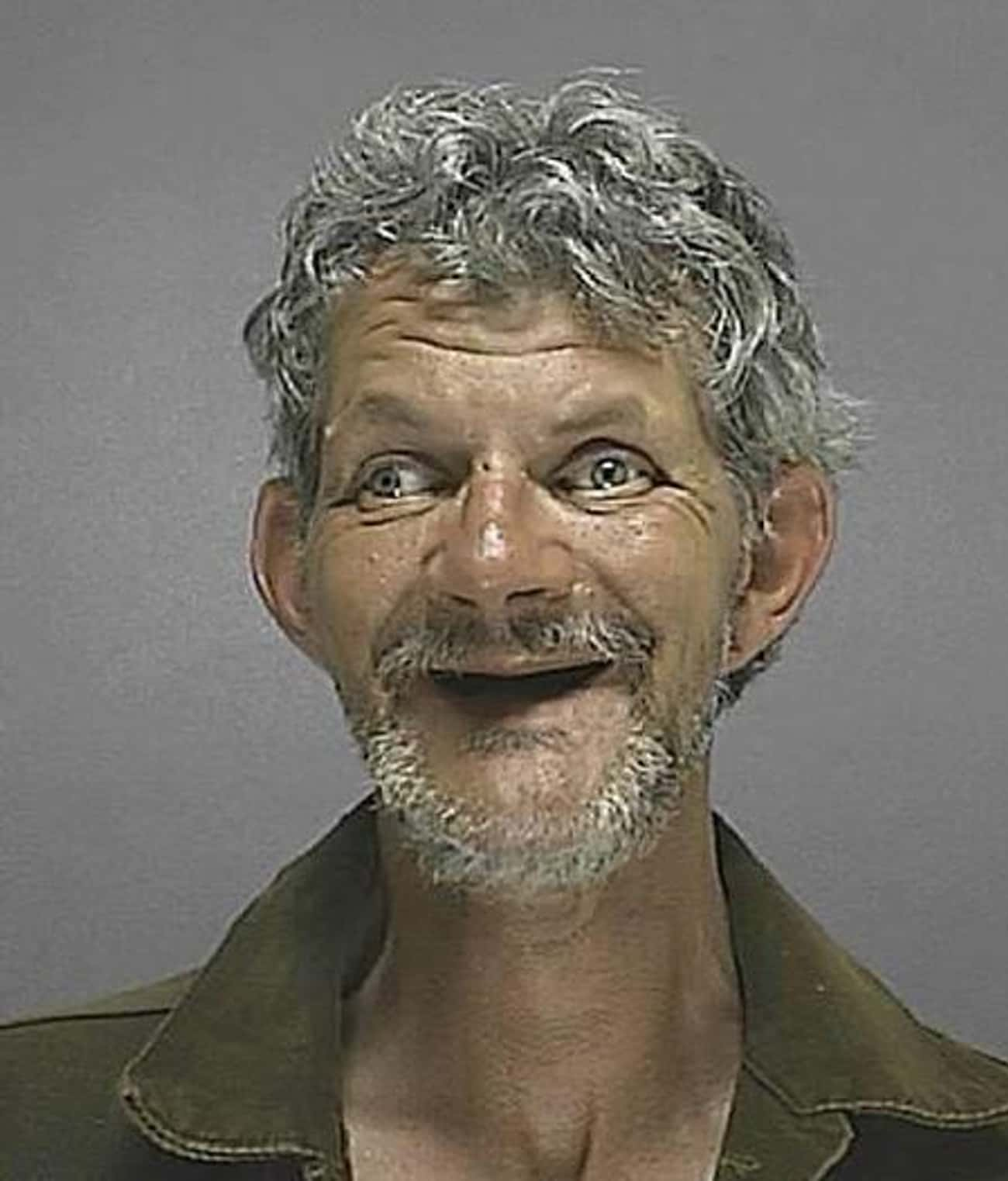 Happy To Be In The Sunshine St is listed (or ranked) 4 on the list 28 Hilarious Florida Mugshots