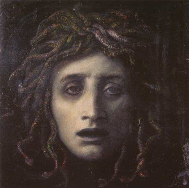 Medusa Had Sex with a Bird, Th... is listed (or ranked) 2 on the list 16 Crazy Things Greek Gods & Goddesses Have Had Sex With