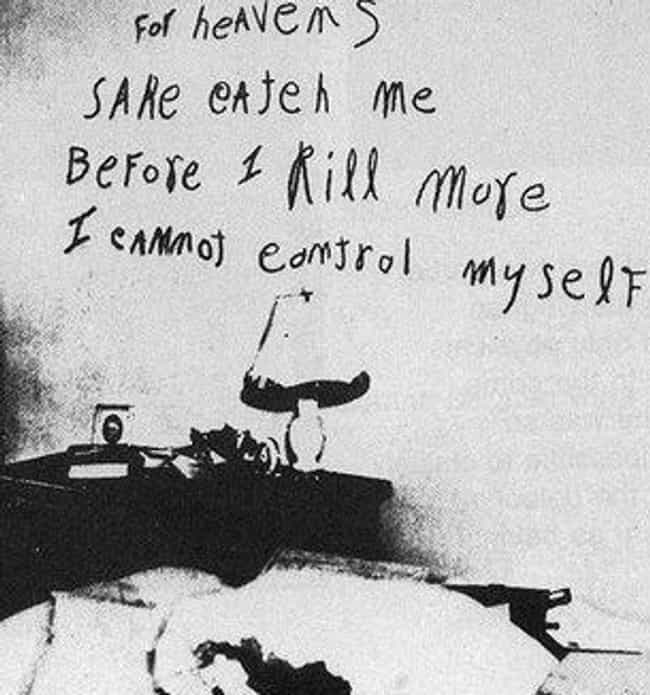 Catch Me Before I Kill More is listed (or ranked) 1 on the list 12 Cryptic and Chilling Messages Left at Murder Scenes