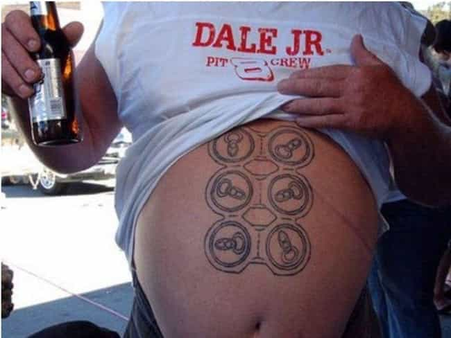 6-Pack Abs: Nailin' It ... is listed (or ranked) 7 on the list Photos That Will Make Your Inner Redneck Laugh