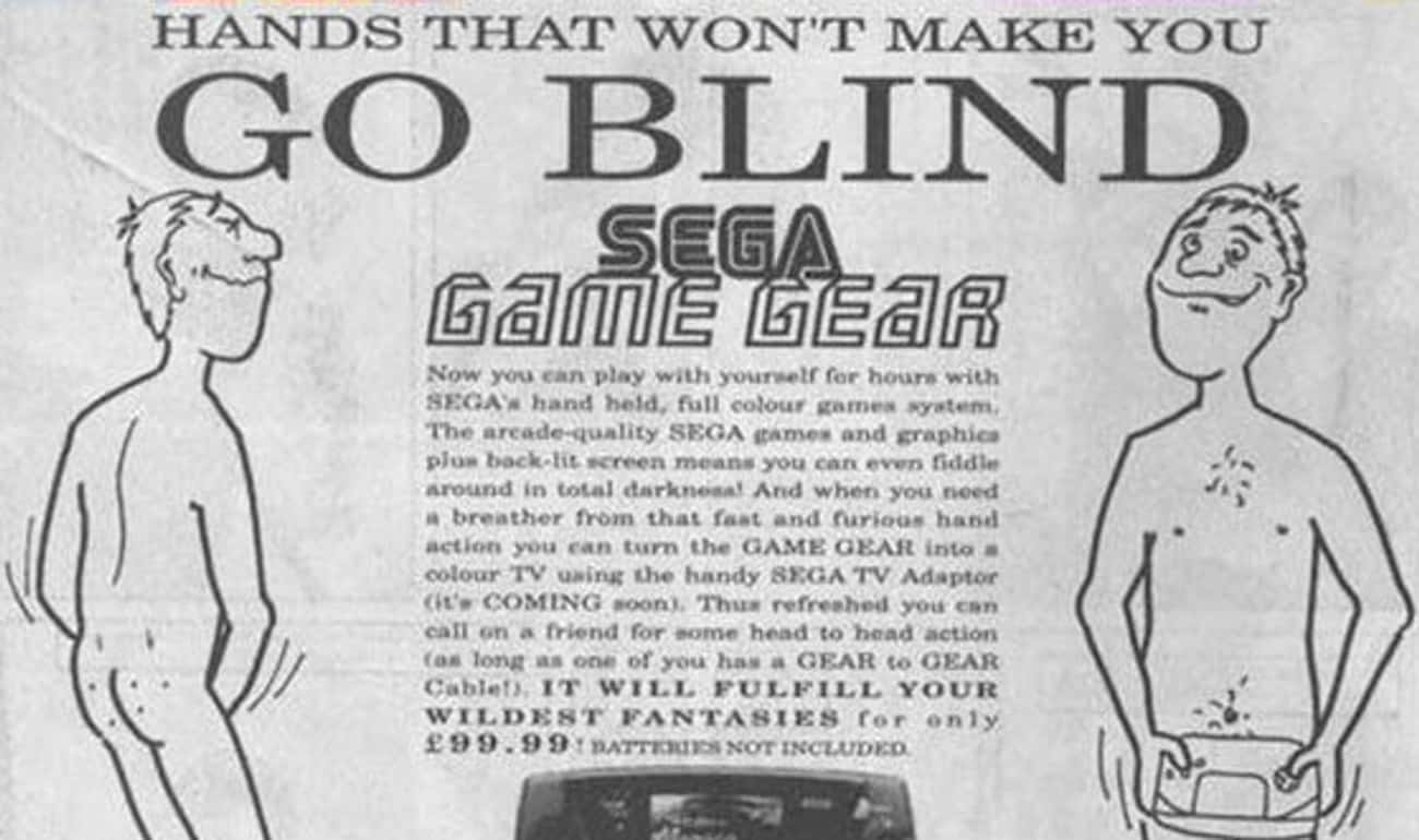 Blind Leading the Blind is listed (or ranked) 4 on the list 27 Edgy Retro Video Game Ads You'd Never See Today
