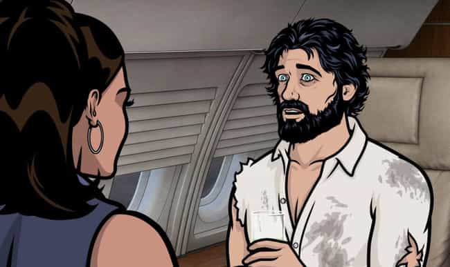 A Broke, Drunk Bearded R... is listed (or ranked) 1 on the list 25+ Things You Didn't Know About Archer Creator Adam Reed