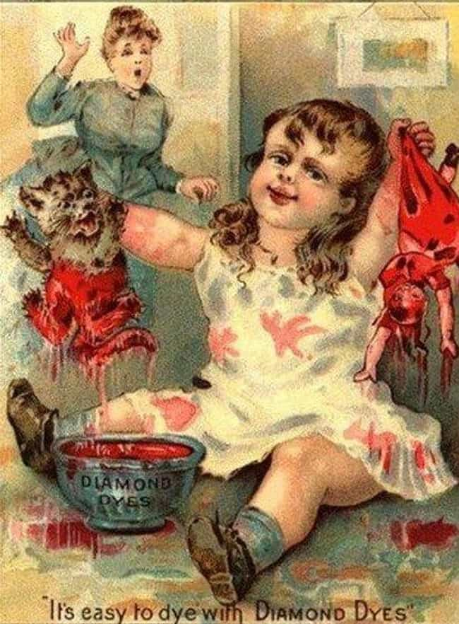 LET GO OF THAT CAT is listed (or ranked) 2 on the list The Creepiest Kids to Ever Appear in Vintage Ads