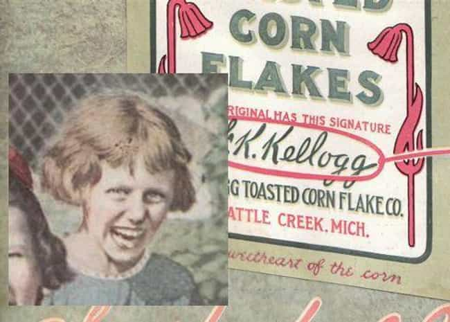The Undead Kellogg's Girl is listed (or ranked) 3 on the list The Creepiest Kids to Ever Appear in Vintage Ads