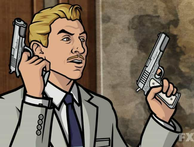 Reed Prefers the Literary Refe... is listed (or ranked) 4 on the list 25+ Things You Didn't Know About Archer Creator Adam Reed