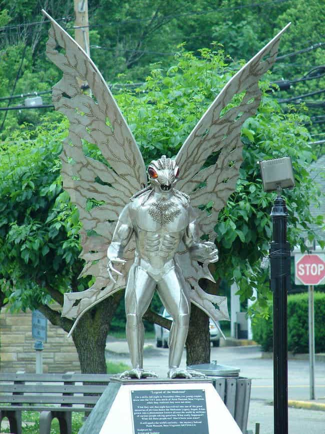 The Mothman Does West Vi... is listed (or ranked) 1 on the list Creepy Stories And Urban Legends From West Virginia