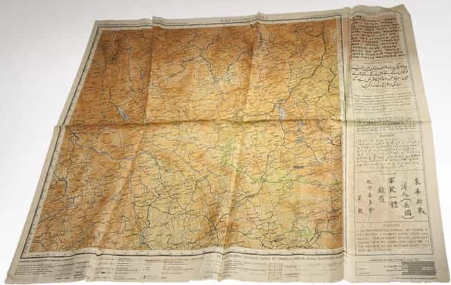 These Silk Escape Maps Were Wa... is listed (or ranked) 2 on the list 12 Cool Instances of Spy Technology Before Computers and the Internet