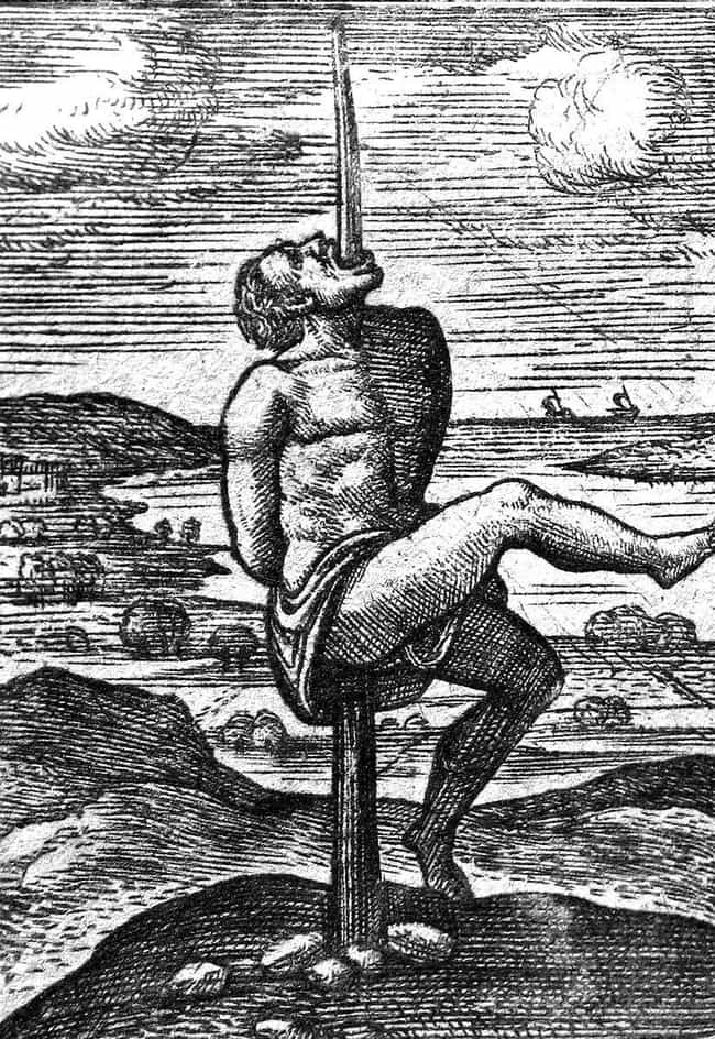 POWs Were Impaled On Enormous ... is listed (or ranked) 1 on the list 10 Gruesome Ways People Died In Ancient Egypt