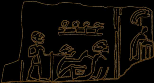 Servants Were Slaughtered and ... is listed (or ranked) 4 on the list 11 Gruesome Ways People Died in Ancient Egypt