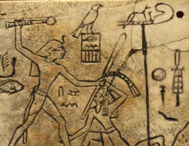 Servants Were Slayed And Burie... is listed (or ranked) 4 on the list 10 Gruesome Ways People Died In Ancient Egypt